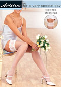 Aristoc Bridal Lace Top Stockings