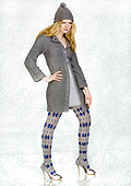 Jonathan Aston Stellar Star Cozy Wool and Cotton Tights
