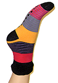 Jonathan Aston Wild At Home Bed Socks (Stripe)
