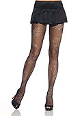 Leg Avenue Fishnet Tights with Spiderweb Print (9085)