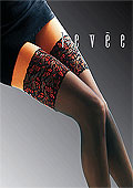 Levee Luxury Red and Black Hold Ups