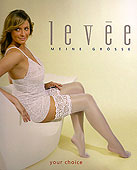 Levee Lace Top Hold Ups
