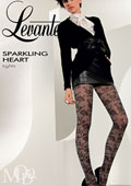 Levante Sparkling Hearts Tights