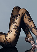 Max Mara Mora Floral Tights