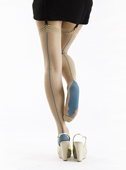 Pamela Mann Sheer Seamed Hold Ups