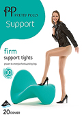 Pretty Polly Firm Support Tights Factor 10