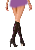Pretty Polly Corsetry Detail Knee Highs