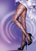 Pretty Polly Dazzling Sheer Diamond Lace Up Tights
