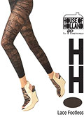 Henry Holland Lace Footless Tights