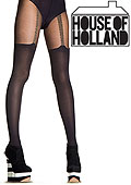 Henry Holland Chain Suspender Tights