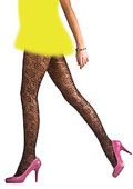 Pretty Polly Floral Lace Tights