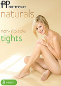 Pretty Polly Natural Non Slip Sole Tights