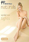 Pretty Polly NATURALS Sandal Toe Tights