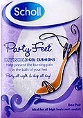 Scholl Party Feet Invisible Gel Cushions