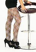 Tiffany Quinn Douglas Grey Tartan Tights