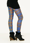 Tiffany Quinn Edinburgh Blue Tartan Tights