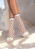 Trasparenze Paul Spotty Ankle Socks