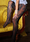 Vixen Greta All Over Lace Tights